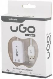 Karta dźwiękowa UGO UKD-1086 5.1 USB NA KABLU (UKD-1086)