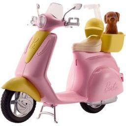 Mattel Barbie. Skuter ze szczeniaczkiem (267368)