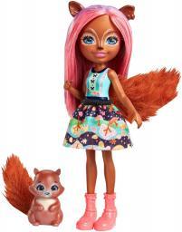 Mattel ENCHANTIMALS Sancha Squirrel & Stumper wiewiórka (FNH22/FMT61)