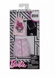Mattel Barbie modne ubranka Hello Kitty