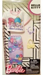 Mattel Barbie modne ubranka Hello Kitty 4