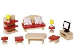 Goki Salon do domku dla lalek (260863)