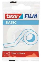 Tesa taśma biurowa basic invisible  (58555-00000-00 TS)