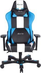 Fotel ClutchChairZ Crank Bravo Czarno-biało-niebieski (CKB11BLBW)