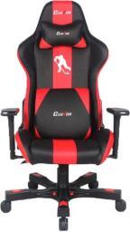 Fotel ClutchChairZ Crank Charlie Czarno-czerwony (CKC088BR)