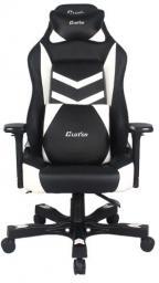 Fotel ClutchChairZ Shift Series Charlie czarno-biały (STC77BW)