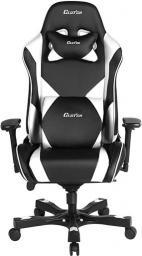 Fotel ClutchChairZ Throttle – model Echo Premium Czarno Biały (THE99BW)
