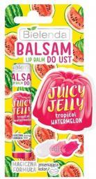 Bielenda Juicy Jelly Balsam do ust zmieniający kolor Tropical Watermelon  10g