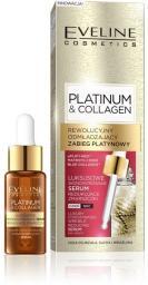 Eveline Platinum & Collagen Skoncentrowane serum redukujące zmarszczki na dzień i noc 18ml