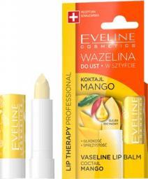 Eveline  Lip Therapy Wazelina do ust w sztyfcie wygładzająca Koktajl Mango