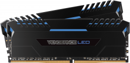 Pamięć Corsair Vengeance LED, DDR4, 32 GB,3000MHz, CL16 (CMU32GX4M2C3000C16B)