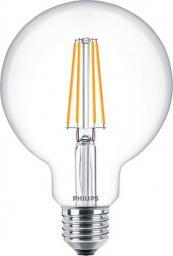 Philips Classic LEDbulb Filament Globelampe 7W, 827, E27, G93, extra clear (PH-74271600)