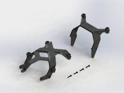 ARRMA Stelaż obudowy zestaw (AR320361)