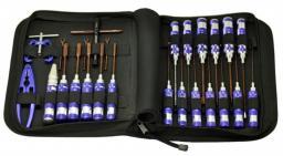 Arrowmax Zestaw narzędzi calowych i metrycznych - 25 sztuk (AM-199404)