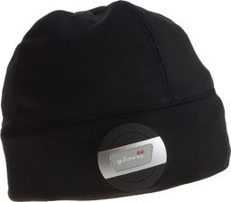 Glovii - Sportowa czapka z wbudowanym zestawem bluetooth, rozm. UNI czarna (BG2XC)