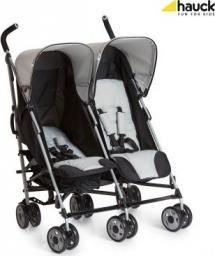 Wózek Hauck Wózek dziecięcy Turbo Duo Caviar Stone czarno-szary
