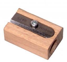 KUM Temperówka drewniana, pojedyncza  (WOOD 1 KUM)