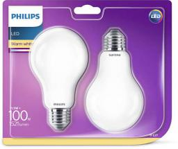 Philips LED classic, 100W, A67, WW FR ND 2BC/10