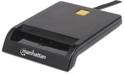 Czytnik Manhattan kart Smart USB zewnętrzny stykowy (102049)