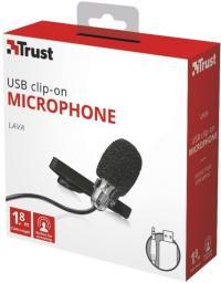 Mikrofon Trust Lava USB z kartą dźwiękową