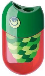 Faber-Castell Temperówka podwójna z gumką. Rybka (183525 FC)