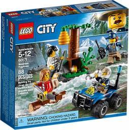 LEGO CITY Police Uciekinierzy w górach (60171)
