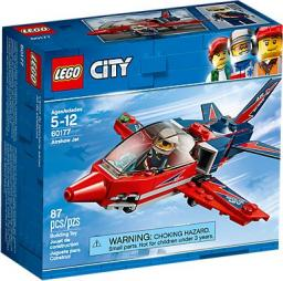 LEGO CITY Great Vehicles Odrzutowiec pokazowy (60177)