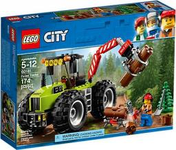 LEGO CITY Traktor leśny (60181)