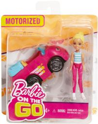 Mattel Barbie ON THE GO Pojazd + Lalka FHV76