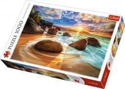 Trefl Puzzle 1000el - Plaża Samudra, Indie (10461)