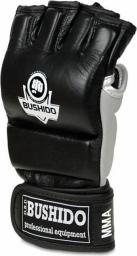 DBX BUSHIDO Rękawice Treningowe MMA E1V2 biało-szare r. L