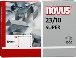 Novus Zszywki 23/10 super x 1000 (042-0531 NO)