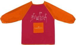 Faber-Castell Fartuszek Do Malowania Dla Dzieci Czerwony (201204 FC)