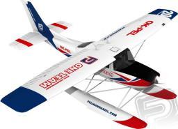 RCM-Pelikan Elektroszybowiec Cessna 182 + pływaki 1200mm ARF (4ST1491-AS)