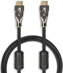 Kabel iBOX HDMI - HDMI, 3, Czarny (ITVFHD07)
