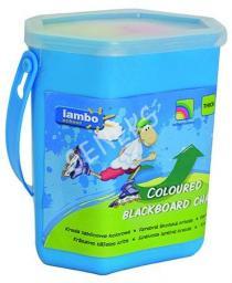 Lambo School Kreda kolorowa school 10 SZT. wiaderko (L301PB10 NR)