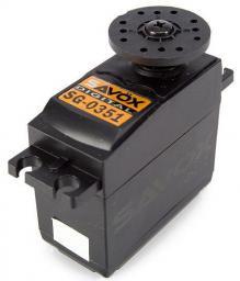 Savox Serwo standard SG-0351 41g (4,1kg/ 0,17sec) (1SV2308)