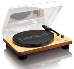 Gramofon Lenco drewniany (L-30W)