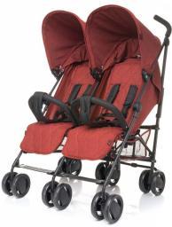 Wózek 4BABY Wózek bliźniaczy Twins Red