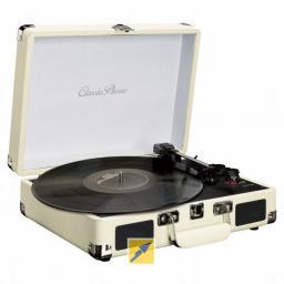 Gramofon Lenco biały (TT11WH)