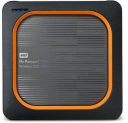 Dysk zewnętrzny Western Digital SSD My Passport Wireless 2 TB Szaro-pomarańczowy (WDBAMJ0020BGY-EESN)