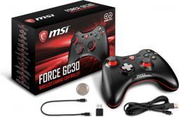 Gamepad MSI Bezprzewodowy / Przewodowy (Force GC30)