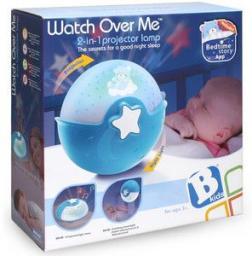 B-Kids Projektor 2w1 niebieski