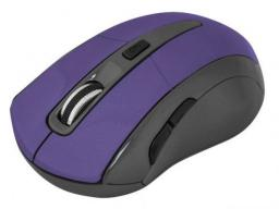 Mysz Defender bezprzewodowa ACCURA MM-965 optyczna 1600dpi fioletowa (52969)
