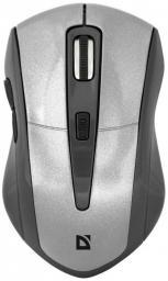 Mysz Defender bezprzewodowa ACCURA MM-965 optyczna 1600dpi rebrno-szara (52965)