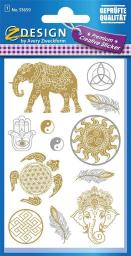 Zdesign Naklejki foliowe - Indie