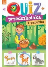 Quiz przedszkolaka z papużką