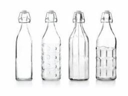 Ibili Butelka szklana z zamknięciem typu weck 1L (740101)