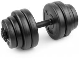 Spokey Hantla Burden Set 15 kg czarna (921735)