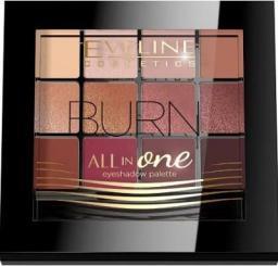 Eveline Paleta cieni 03 All in One Burn
